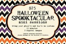 halloween mini session