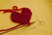 Knitting / Hearts