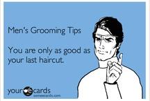 BARBER SHOP / MEN'S GROOMING TIPS / by Tina Walker