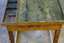 recuperi / Ripristino di oggetti e manufatti in cattivo stato o riciclo degli stessi