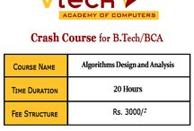 Crash course for Algorithm Design and Analysis