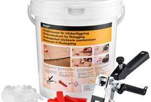 Byggematerialer og værktøj