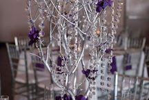 Esküvői dekoráció (ezüst! - Wedding decoration silver