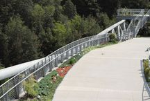Green roof nature bridge / Green roof