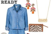Game Day Gorgeous / Sport inspired looks that you'll love to sport