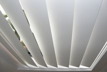 Vertical Blinds / Vertical blinds stack evenly and neatly, providing a tidy window furnishing that is privacy and light controlled.