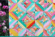 Diagonal Strip Quilt Tutorial