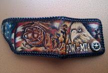 Veteran POW-MIA wallet