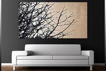 Walls art, photos ideas