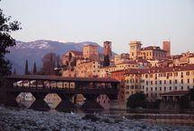 Hometown: Bassano del Grappa / Ci piace raccontare la nostra città attraverso le immagini.  We love to let pictures speak about our city.
