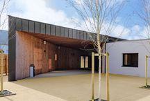 Architecture équipements Finistère / Trace & associés, agence d'architecture, dont le siège social est basé à Brest dans le Finistère, vous présente ses réalisations d'architecture équipements.