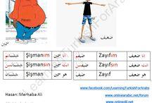 Arapça Zıt Anlamlı Kelimeler