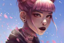 girl - art