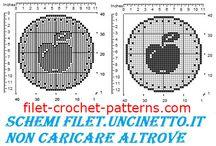 Crochet filet free patterns jar covers / Crochet filet free patterns jar covers
