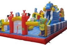 Commercial Inflatable Fun City for Sale
