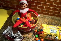 elf on shelf / by Lacey Chitsey