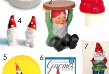 Gnomes, Fairies, and other magical beings