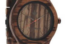 CORE Collection by WoodWatch / The CORE Collection features multiple wood types and comes in two sizes. Adjustable with different straps so you can design your own wooden watch.