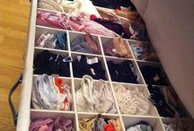 Closet and organizing