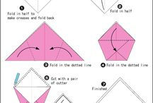 Fabric: origami & furoshiki