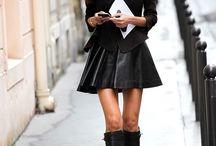 Mini skirts / Mini