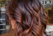 balyage brown hair