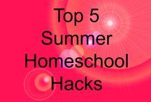 homeschool - summer
