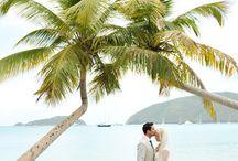 Destination Wedding Ideas - US Virgin Islands / Dreaming of a destination wedding? Look no further than the gorgeous US Virgin Islands! Best of all? No passport needed!