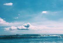 Strand sol varm