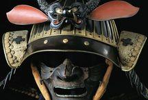 Máscaras y armaduras