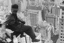 Iron workers -skyscraper
