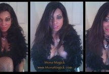 Mona Magick  Personal Me / Personal intimate pictures of me, Mona Magick