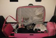 Hot Pink Luggage Sets