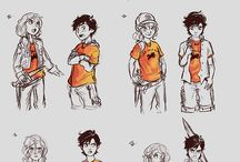 heroes of olympus / Everything about percabeth, jasper, caleo, frazel, solangelo and others in both camp