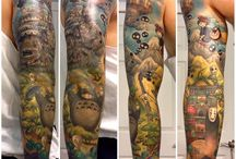 Tattoo - dense sleeves