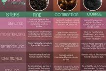 black hair tips