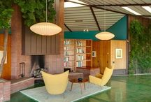 """Mid-century Modern Decor / """"You can hide things behind veils and ruffles, but when you come to simplicity, the truth comes out."""" William Haines / by Shannon Foster-Boline Real Estate Professional"""