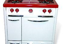 Vintage stoves