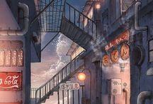 Anime sceneary