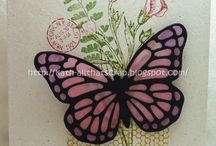 Stampin Up Butterfly Basics / Card inspirations using Stampin Up Butterfly Basics