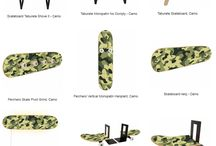 Skate Furniture in Camo Design for Skateboarderd