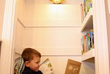 reading nook / Because I want a reading nook