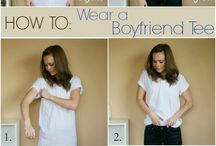 Fashion tricks and tutorials