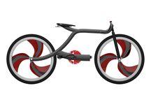Hermes Bike / Materials: -Carbon fiber -Fabric -Polythene -Chrome