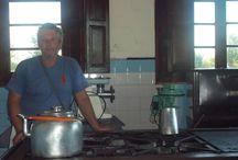 cocinando en el convento
