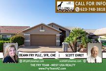 SOLD! Very Popular Augusta Model Home On The 8th Tee / 15374 W Merrell Street, Goodyear, AZ 85395