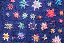 wonky star quilts