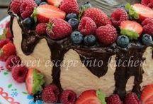 tort nikt way z owocami lata