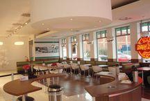 Krispy Kreme, Trafford Park, Manchester / Refurbishment works at Krispy Kreme in Manchester
