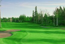 Golfing / Caribou Highlands Lodge sits just on the side of one of Minnesota's best golf courses - the 27-hole Superior National at Lutsen. / by Caribou Highlands Lodge on Lutsen Moutains
